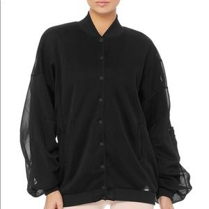nwt Alo Yoga Field mesh oversized variety jacket
